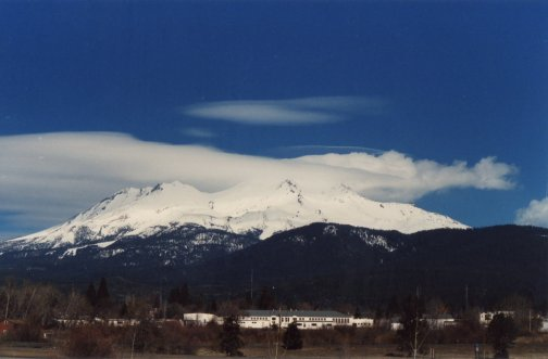 Mt. Shasta City, CA, Mt. Shasta volcano