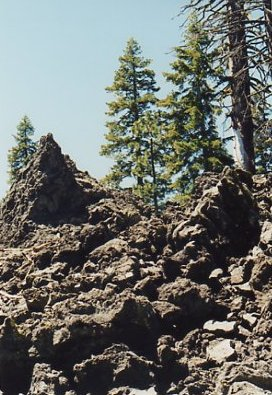 Lava Fields,Northern California